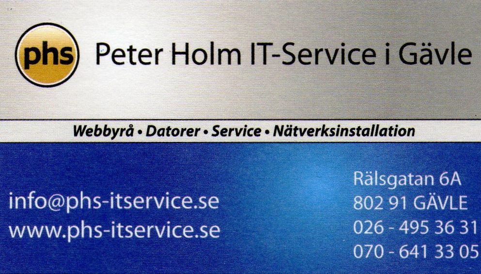 Peter Holm ITService